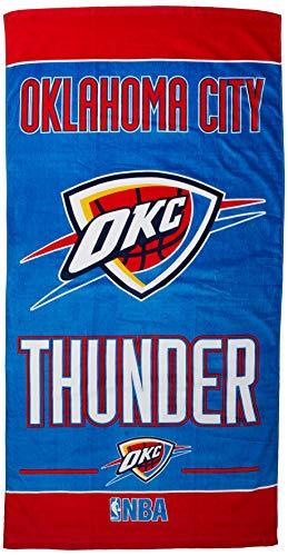 NBA Oklahoma City Thunder Toalla de Playa, Color del Equipo, Talla única