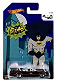 Hot Wheels Batman 75th Anniversary - Batmobile de la serie de televisión clásica de Batman (tamaño de escala 1.64)
