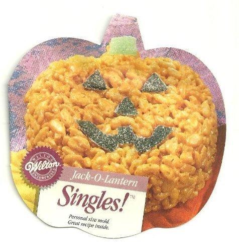 Wilton Halloween Jack-O-Lantern Singles Form Kuchenform (Kürbis) (2105-1120, 1996)