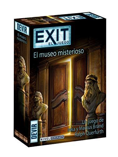Devir- Exit 10, El Museo Misterioso, Multicolor (BGEXIT10)