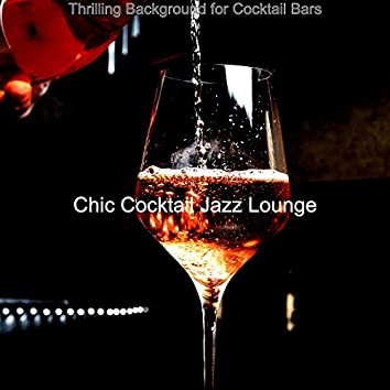 Thrilling Background for Cocktail Bars