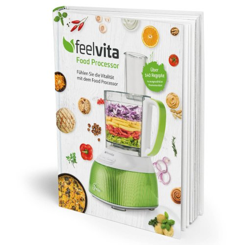 Genius Feelvita | Food Processor Rezeptbuch | Gesundheit & Vitalität | Ernährung | Fitness | NEU