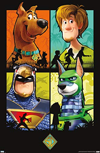 Trends International Scooby-Doo: Scoob-Grid Wall Poster, 22.375