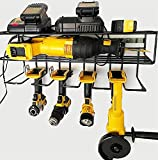 c2M Heavy Duty Floating Tool Shelf | Wall Mounted Storage Rack for Handheld & Power Tools | Compact...