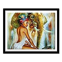 針仕事ダイヤモンド刺繡アフリカゾウフルドリル5Dダイヤモンド絵画アニメーション動物クロスステッチ絵画ラインストーンスクエア40x50cm