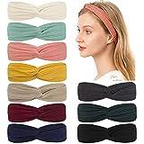 Headbands Soft Knitting 10 pcs,Elastic...
