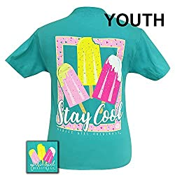 Girlie Girls Summer Stay Cool Short Sleeve T-Shirt - YOUTH