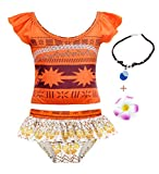 AmzBarley Little Girls Swimwear Princess 2-Pieces Swimming Suit Tankini Sets Toddler Beach Sport Pool Party Water Fun Bathing Suit with Accessories Size 4T(3-4Years)