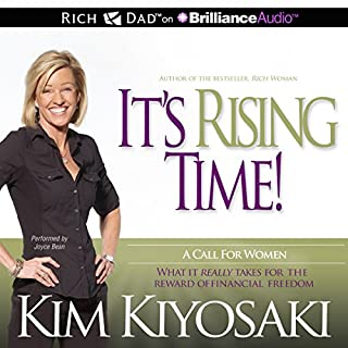 It's Rising Time! audiobook cover art