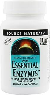 Essential Enzymes Vegetarian 500mg VegCap Source Naturals, Inc. 60 VCaps