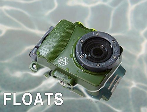Intova Dub Waterproof Hi-Res 8MP/1080p Photo and Video Action Camera