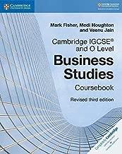 كتاب دراسي منقح للدراستين التجاريتين Cambridge IGCSE وO Level (Cambridge International IGCSE)