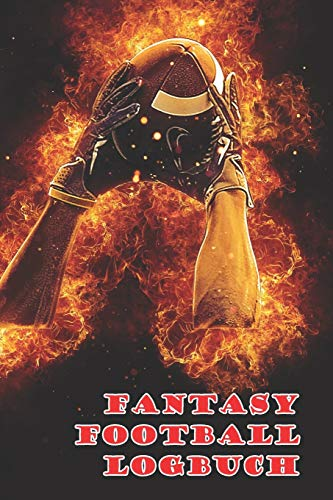 Fantasy Football Logbuch: Notizbuch für dein Fantasy Football