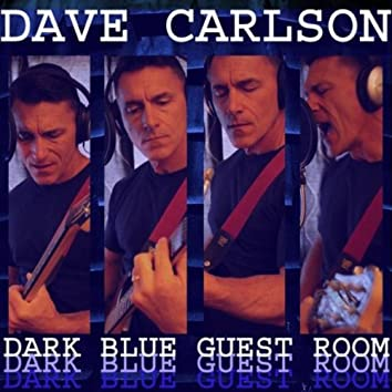 Dark Blue Guest Room