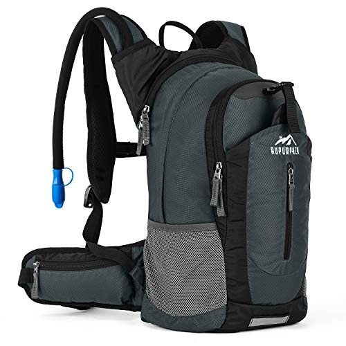 Insulated Hydration Backpack Pack with 25L BPA FREE Bladder  Keeps Liquid Cool up to 4 Hours Lightweight Daypack Water Backpack For Hiking Running Cycling Camping 18L