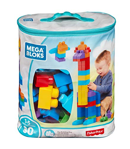 Mega Bloks Pre Sacola 80 Pc Mattel