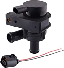 Cheriezing Auxiliary Cooling Water Pump With Plug 1K0965561J for Audi A3, A3 Quattro, Beetle, CC, Eos, GTI, Jetta, Passat, Tiguan, TT, TT Quattro