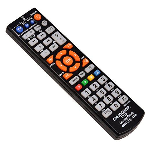 『(inkint)マルチAVリモコン ユニバーサル英語TVスマートIRリモコン 学習機能 ABS素材 ブラック』の4枚目の画像