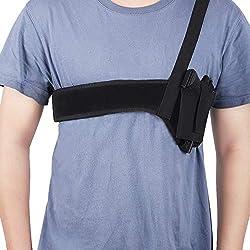 professional Accmor Deep Concealment Shoulder Holster, Versatile Armpit Pistol Holster for Men and Women,…