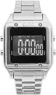 Relógio Feminino Euro Digital Eug2510ab/3p Prata
