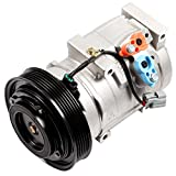 SCITOO AC Compressor with Clutch 2005-2008 Compatible for Honda Odyssey Pilot Ridgeline 2003-2006 Acura MDX 3.5L CO 10736C