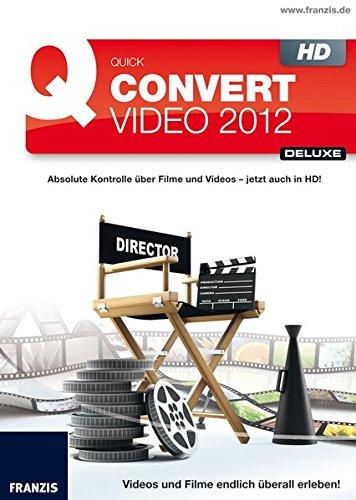 Quick Convert Video 2013, CD-ROM Für Videos und Filme. MP4, AVI, MOV, FLV, TS, WMV, ASF, MKV, MPG u.v.m. Windows 32 Bit/64 Bit