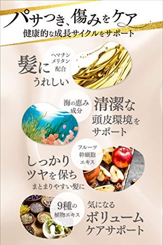 KAMIKAカミカクリームシャンプー[黒髪ツヤ髪白髪ケアオールインワンパラベンフリー]400g/1本