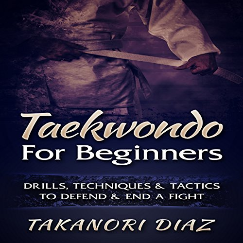 Taekwondo for Beginners audiobook cover art