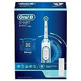 Oral-B Smart Expert - Cepillo de dientes eléctrico con conexión Bluetooth, anillo inteligente y estuche de viaje, color azul