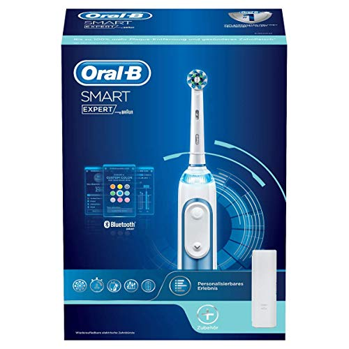 Oral-B Smart Expert Duopack - Spazzolino elettrico, blu