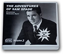 THE ADVENTURES OF SAM SPADE Volume 3 - Old Time Radio 12 AUDIO CD - 23 Shows - Total Playtime: 11:45:57