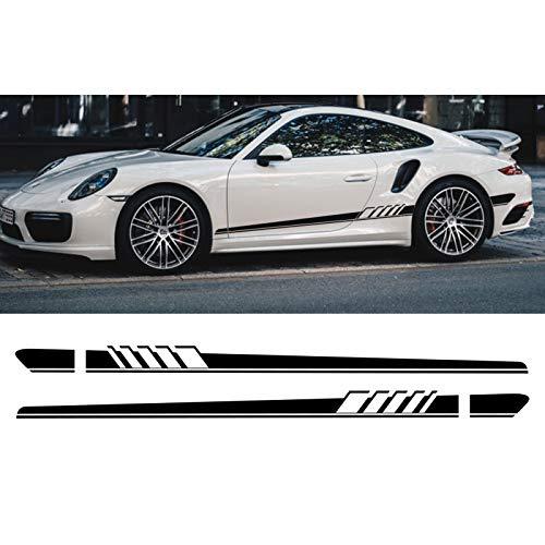 vitesurz Auto Pegatinas de Calcomanías Body Stripe Lateral, para Audi, paraBMW, para Ford, para VW, para Toyota, para Peugeot, para Mercedes, para Honda, para Mini, Etiqueta engomada del Coche
