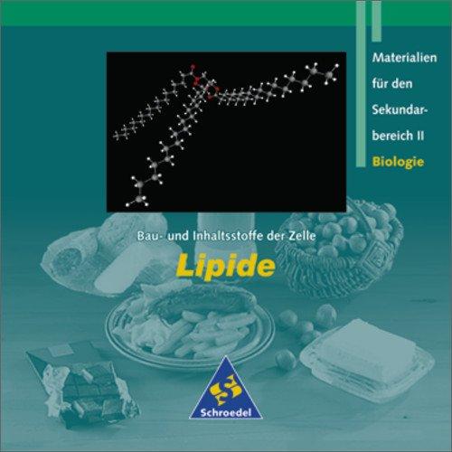Bau und Inhaltsstoffe der Zelle - Lipide, 1 CD-ROM Materielien für den Sekundarbereich II Biologie. Für Windows 95/98//NT 4.0/ME/2000/XP
