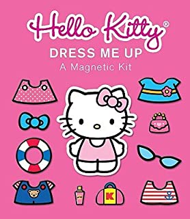 Hello Kitty: Dress Me Up: A Magnetic Kit [With Sticker(s) and Magnet(s) and Paperback Book] [NOVL-BXD-HELLO KITTY DRESS] [Other]