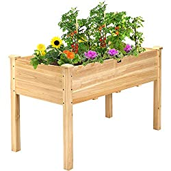 Benefits of using an elevated raised garden bed