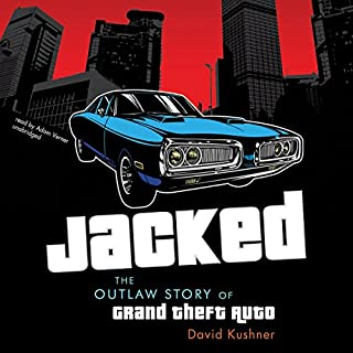 Jacked audiobook cover art