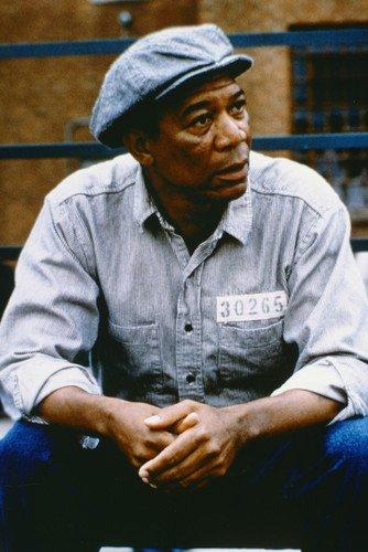 Póster de Morgan Freeman The Shawsted Redención 24 x 36