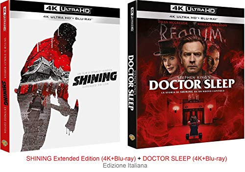 SHINING Extended Edition (4K+Blu-ray) + DOCTOR SLEEP (4K+Blu-ray) Ed. Italiana