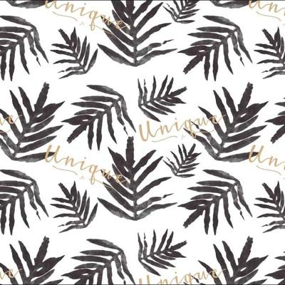 Katoen linnen stof hennep doek jute tafelkleed kussen gordijn stof dauw groene planten bloemen afdrukken 100x145cm lichte koffie