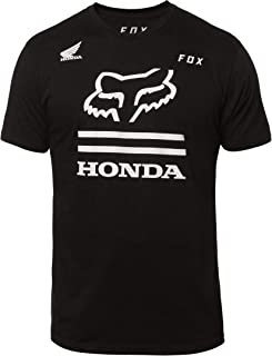 Fox Racing Honda Premium T-Shirt-Black-L