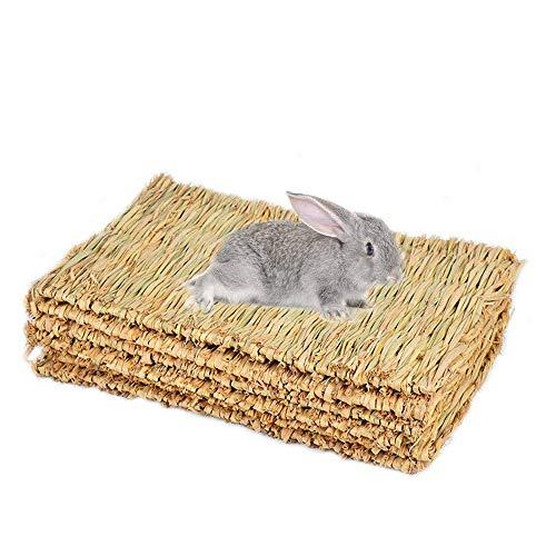REFURBISHHOUSE Kaninchen Unterlage, Kaninchen Gras Matte, K?fig Sicher Und Essbare Kaninchen Unterlage, Kaninchen Kaninchen Spielzeug