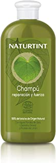 Naturtint Shampoo Riparazione e Forza - Nutre, Ripara e Rinforza, Capelli Idratati e Con Brillante, 99% Ingredienti Natura...
