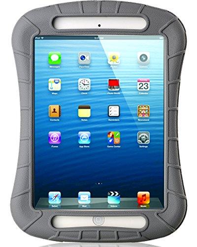 iPad Mini Case, iXCC Shockproof Silicone Protective Case Cover for iPad Mini, Mini 2, Mini 3and iPad Mini Retina Models - Gray