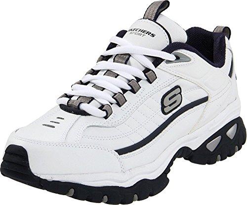 Skechers Energy After Burn Mens Sneakers White/Navy 10.5 W
