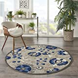 Durable indoor/outdoor rug Soft to the touch Add style to your patio or deck Rug pad recommended Colors may vary in appearance from sunlight to indoor lighting