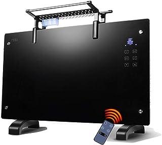 Radiador eléctrico MAHZONG Funcionamiento silencioso del Cuarto de baño Ahorro de energía del hogar del Calentador del Cristal de Carbono 2000W
