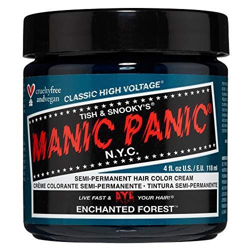 Manic Panic - Enchanted Forest Classic Creme Vegan Cruelty Green Free Semi Permanent Hair Dye 118ml