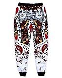 Unisex King of Diamonds Poker Cards Sweatpants Joggers Sportswear Pants Bandana XL