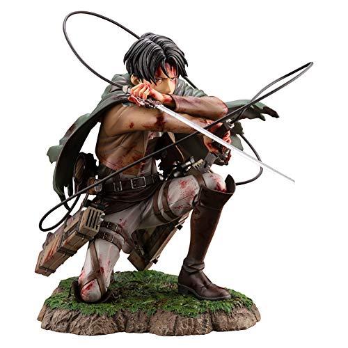 Deliya Attack on Titan: Levi Figma Beschädigt Action Figure Fans Und Sammler