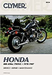 1978 - 1987 Honda 400-450cc Twins Clymer Repair Manual